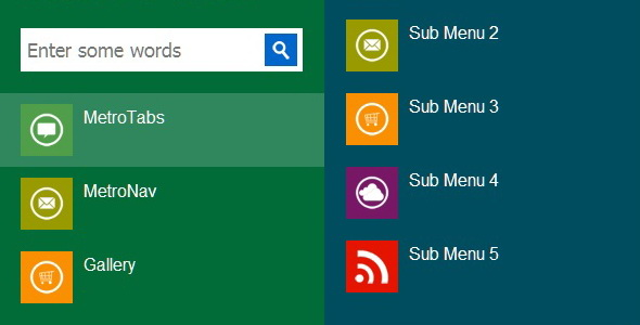 Enter some words Sik Menu MetroTabs Sub Menu MetroNav Sub Menu Gallery Sub Menu