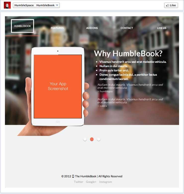 humbleface-multipurpose-facebook-template