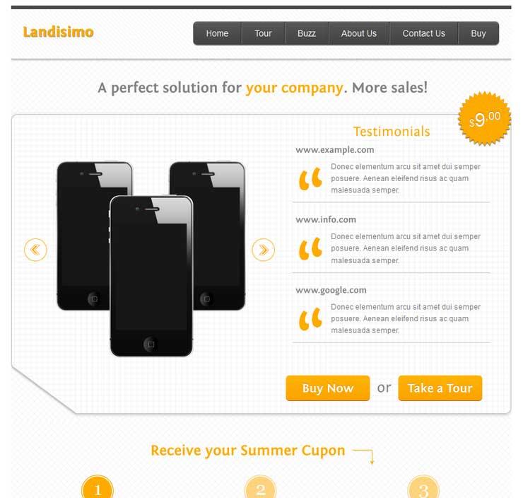 landisimo-facebook-site-template
