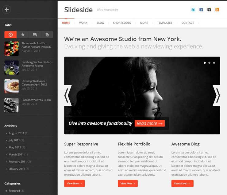 slideside-responsive-multi-purpose-wp-theme